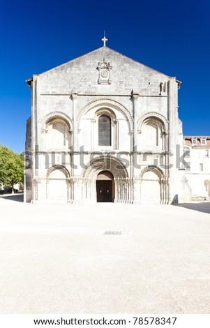 Hölgy apátság Franciaország épület építészet történelem Stock fotó © phbcz