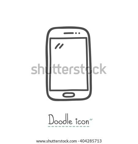Smartphones blanco plantilla transparente inteligentes Foto stock © romvo