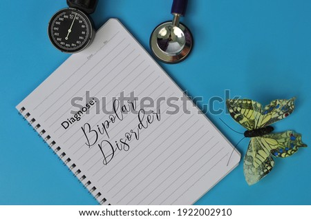 Mental Health Assessment. Diagnosing of Bipolar Disorder Stock photo © olivier_le_moal