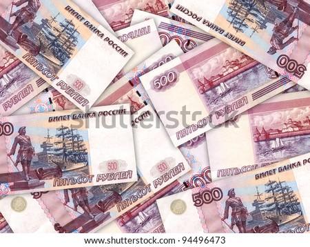 Dinheiro 500 russo abstrato Foto stock © boroda