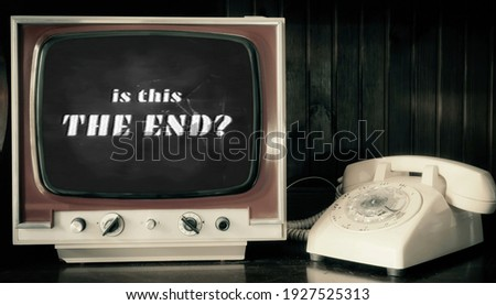 As Seen on TV - Old Fashioned Television stock photo © iqoncept