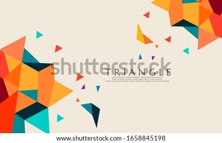 Streszczenie modny banner kopia przestrzeń używany przestrzeni Zdjęcia stock © IMaster