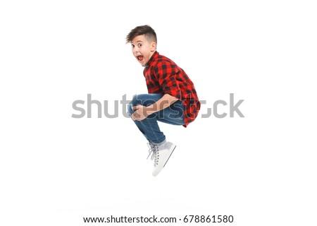 少年 · ボール · 再生 · ルーム · 笑顔 - ストックフォト © grafvision