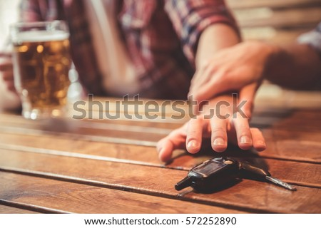 Drunk driving concept Stock photo © neirfy