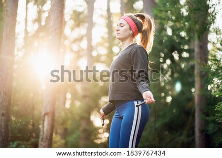 girl and her coach training in the park Stock photo © photography33