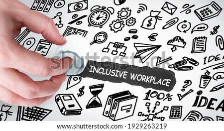 Learning Disabilities Words Shows Special Needs And Educated Stock photo © stuartmiles