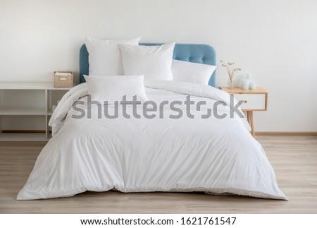 чистой · гигиена · подушкой · дизайна · мебель · кровать - Сток-фото © dolgachov