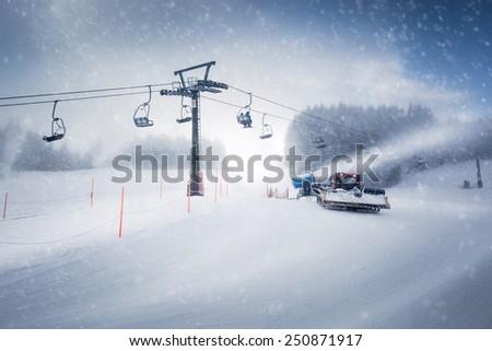 雪 6 黄色 森林 自然 ストックフォト © smuki