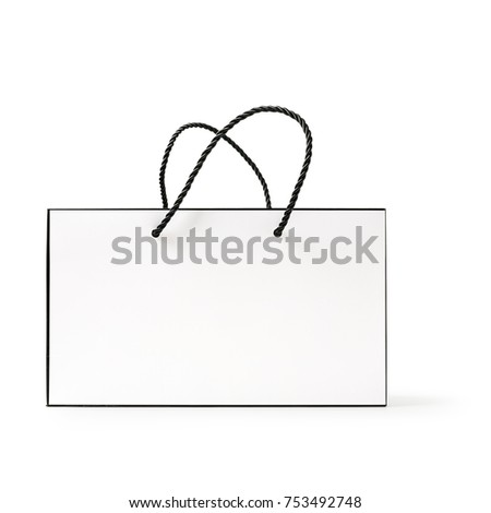 Sale bag design element isolated on white stock photo © kravcs