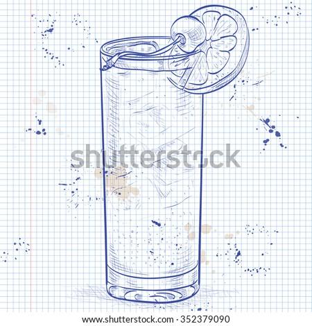 klasszikus · koktél · sós · peremszegély · ital · kellékek - stock fotó © netkov1