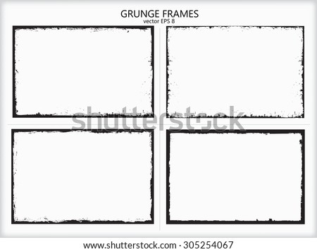 Grunge border and background Stock photo © Lizard
