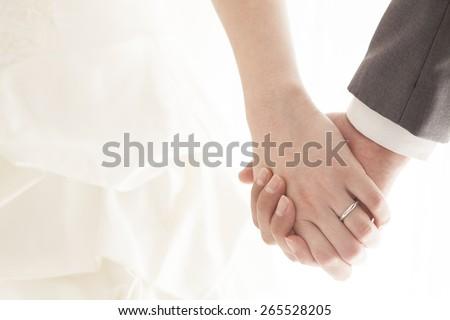 Sposa anello guantoni da boxe segno lottare donna Foto d'archivio © jarp17