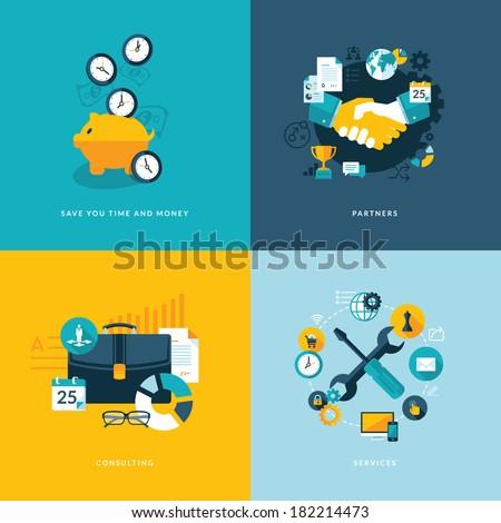 Smart Optimization Icon. Business Concept. Flat Design. Stock photo © WaD