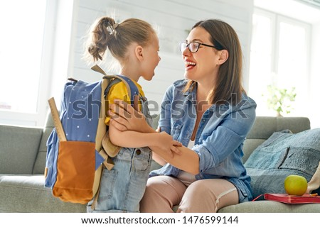 Girl with backpack Stock photo © photography33