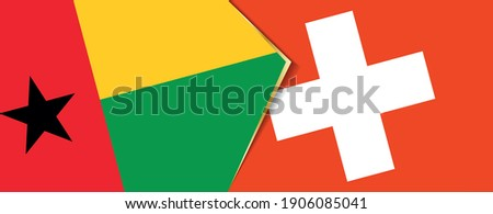 Switzerland and Guinea Flags Stock photo © Istanbul2009