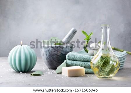 Friss fürdő arc test egészség szépség Stock fotó © joannawnuk