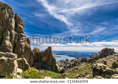 Foto d'archivio: Climbing · Spagna · percorso · muro · montagna · rock