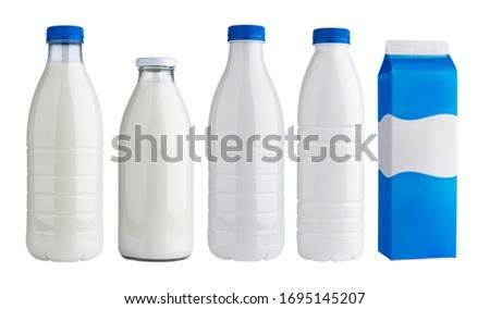 A milk box on white background Stock photo © bluering