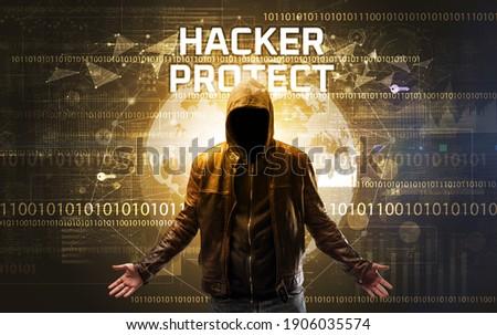 ハッカー 碑文 指紋 ハッキング セキュリティ ウェブ ストックフォト © ra2studio