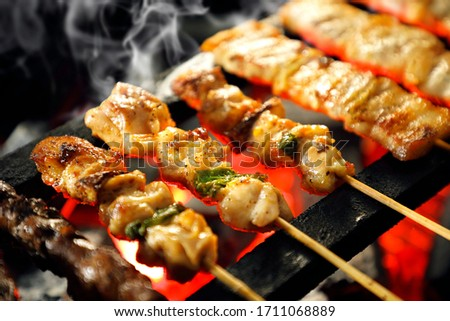 Japanese skewered Stock photo © fanfo