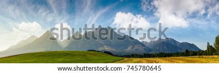 dağ · bölge · dağlar · Karadağ · yaz - stok fotoğraf © avq