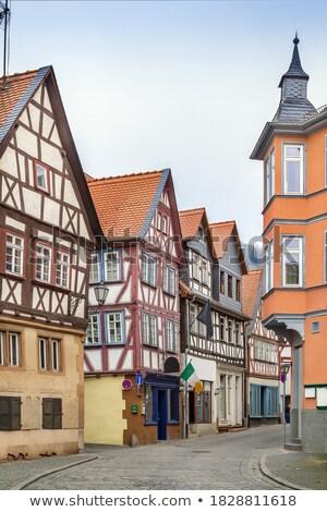 street in Budingen, Germany stock photo © borisb17