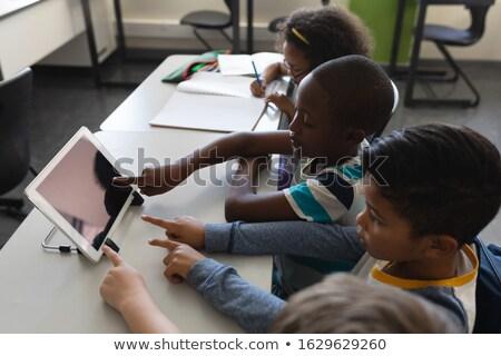 Ver estudar secretária sala de aula Foto stock © wavebreak_media