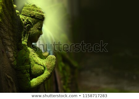 Statue of buddhist goddess in Thailand Stock photo © vapi