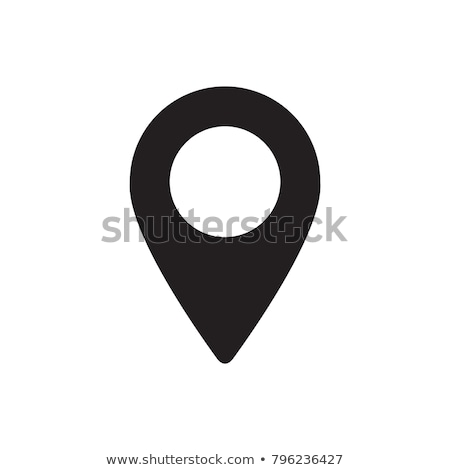 kaart · icon · witte · technologie · reizen · schilderij - stockfoto © smoki
