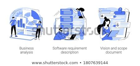 Project beheer vector metaforen business strategie Stockfoto © RAStudio
