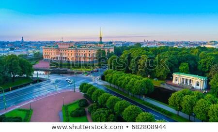 święty zamek Rosja inżynierowie królewski Zdjęcia stock © borisb17