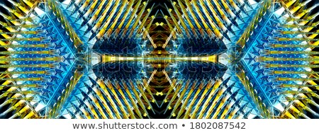 diamond structure star shape and kaleidoscope background Stock photo © Arsgera