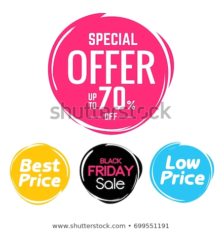 Sale Promotion Bubble, Super Seasonal Clearance Stock photo © robuart