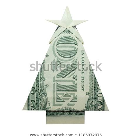 dólar · árbol · muchos · billetes · forma · dinero - foto stock © pressmaster