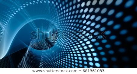 Tecnologia digitale particella ampia banner luce effetto Foto d'archivio © SArts