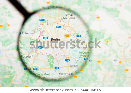 Magnifying Glass - Germany stock photo © kbuntu