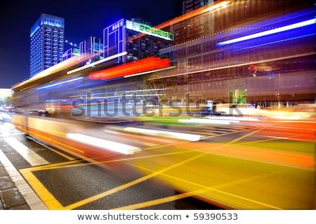 neon · auto · licht · cirkels · 3d · illustration · internet - stockfoto © cozyta