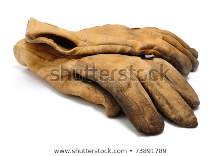 old working gloves stock photo © ansonstock