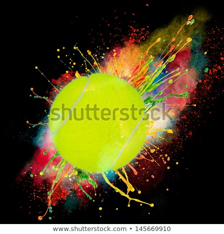 Tennis Ball Wheel Stock photo © RAStudio