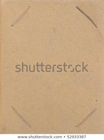 Bild Album isoliert weiß Textur Stock foto © homydesign