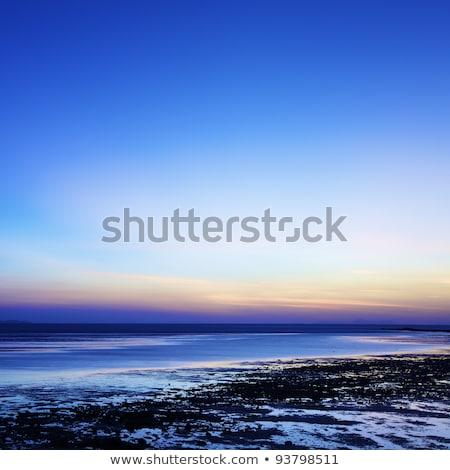 sabah · deniz · manzarası · uzun · pozlama · atış · gökyüzü · su - stok fotoğraf © moses