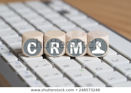 Acronym of CRM - Customer Relationship Marketing Stock photo © bbbar