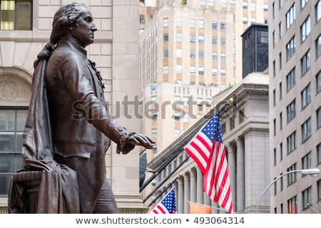 Statue George Washington Federal Hall Stock photo © backyardproductions