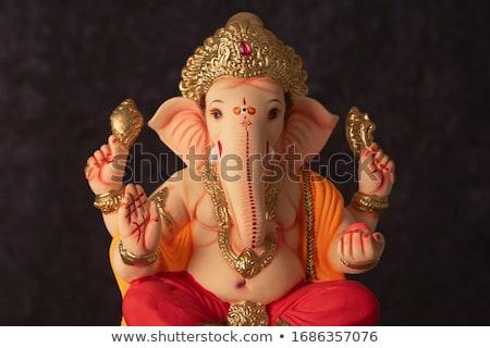 hinduizmus · Isten · ősi · színes · szobor · Sri · Lanka - stock fotó © witthaya