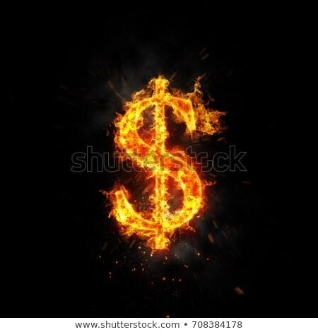 Hot Dollar Stock photo © creisinger