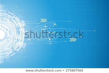 industriali · verde · elettronica · texture · computer - foto d'archivio © pzaxe