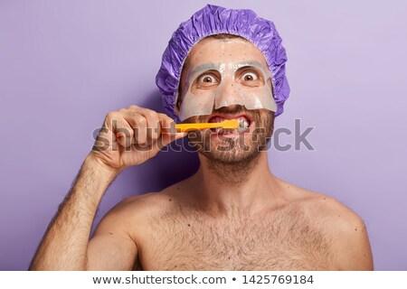 утра гигиена женщины ванную жизни молодые Сток-фото © photography33