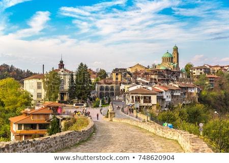 Twierdza Bułgaria zamek architektury Zdjęcia stock © travelphotography