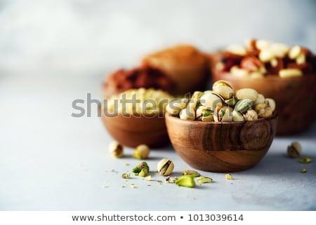 groene · bladeren · houten · tuin · voedsel · vruchten · groene - stockfoto © justinb
