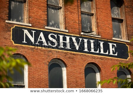 Architectuur centrum Tennessee USA reizen skyline Stockfoto © benkrut